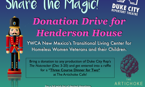Donation Drive for Henderson House!