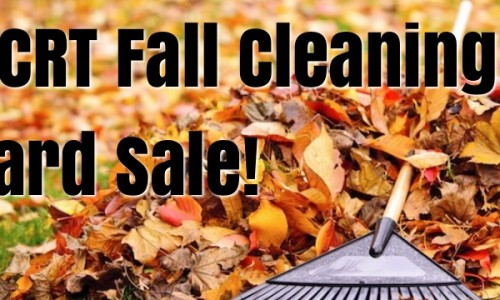 Fall Cleaning Yard Sale!